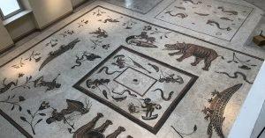 Mosaico dei Pigmei
